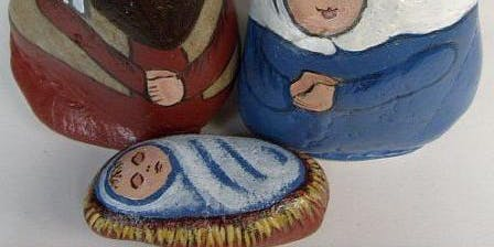 A Rockin' Good Time- River Rock Nativity Family Craft