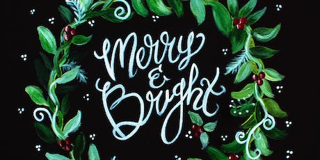 Merry and Bright-Acrylic Painting Class tickets