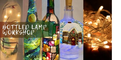 Festive Bottle Lamp Workshop tickets