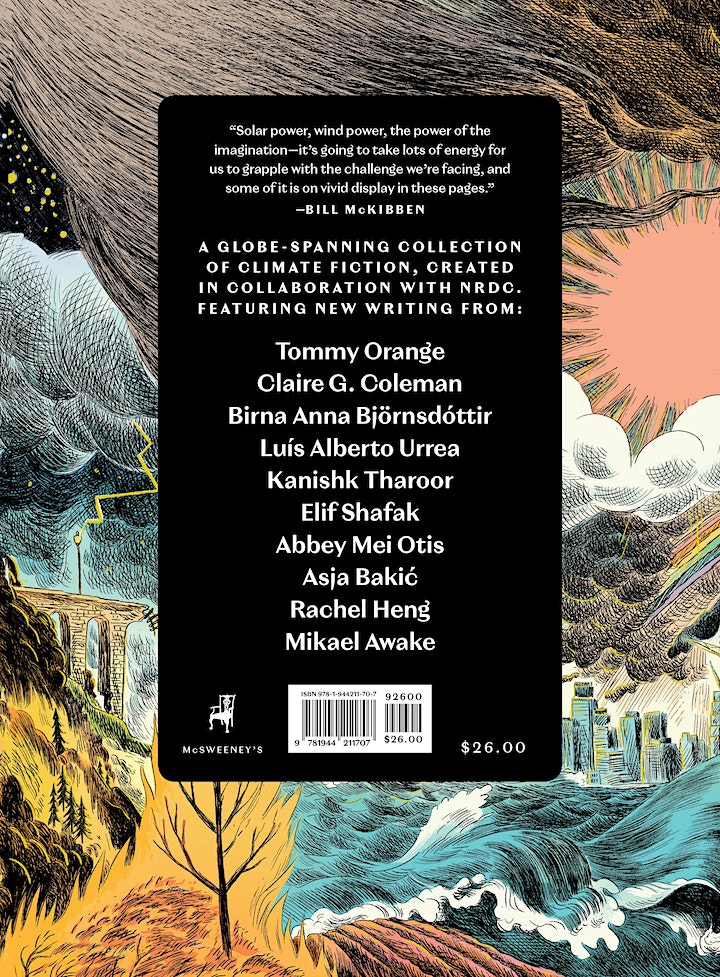 Climate Fiction Release Party + Discussion with NRDC & McSweeney's image