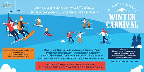 6th Annual Winter Carnival tickets