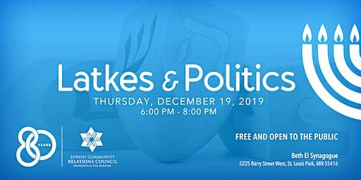 Latkes & Politics: 2019 JCRC Hanukkah Party