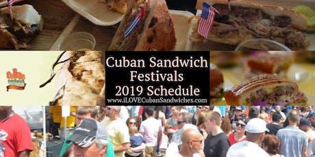 5th Annual Metro Orlando & Kissimmee Cuban Sandwich Festival - General Adm tickets