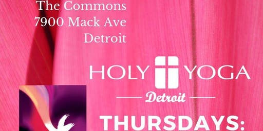 Holy Yoga Detroit at The Commons