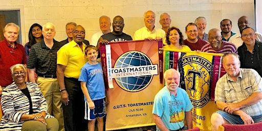Get Up to Speak Toastmasters