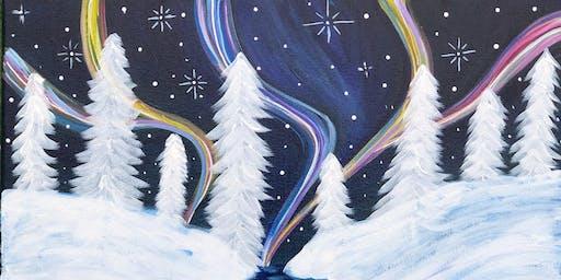 Winter Wonderland -Sip n Paint
