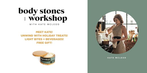 KATE MCLEOD HOLIDAY WORKSHOP AT BLOOMINGDALE'S NORWALK