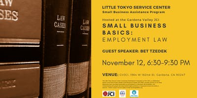 Employment Law for Small Business Owners