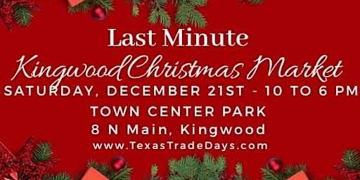 Last Minute Kingwood Christmas Market