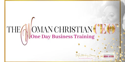 The Woman Christian CEO 1-Day Live Training