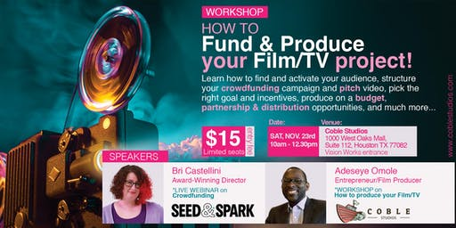 How to fund & produce your Film/TV Project!