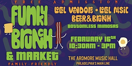 Funky Brunch & Market: Local Vendors, Live Music, Beer, & Brunch tickets