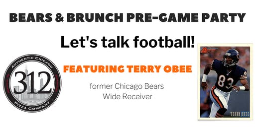 Brunch & Bears Pre-Game Party with Terry Obee