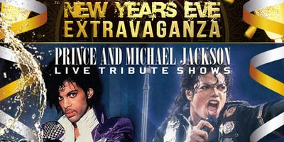New Years Eve. Dance Party. Prince and MJ live tribute show