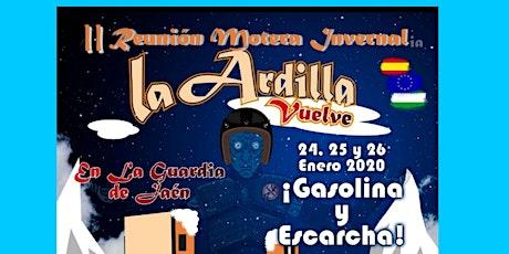 Reunión Motera Invernal La Ardilla Vuelve en La Guardia de Jaén 2020 entradas