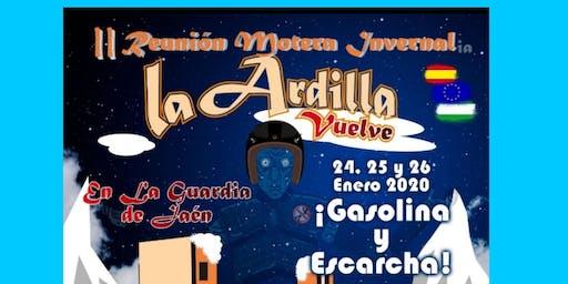 Reunión Motera Invernal La Ardilla Vuelve en La Guardia de Jaén 2020
