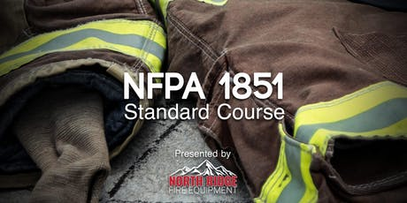 NFPA 1851 Standard Course for Firefighters tickets