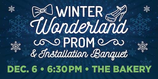 Winter Wonderland Prom & Installation Banquet