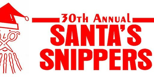 30th Annual Santa's Snippers Cut-A-Thon