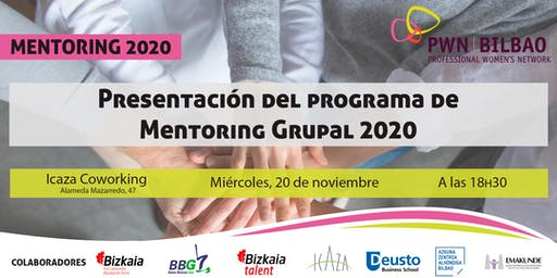 Presentación del programa de Mentoring Grupal 2020