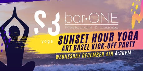 S3 YOGA PRESENTS: SUNSET HOUR YOGA ART BASEL KICK-OFF PARTY! tickets