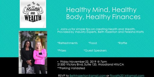 Wealth & Health Event!