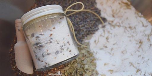 Bath Soaks and Body Oils - DIY sustainable skin care!