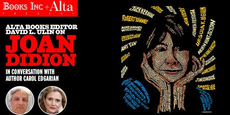 Joan Didion and the West tickets