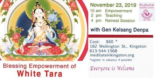 Blessing Empowerment of White Tara
