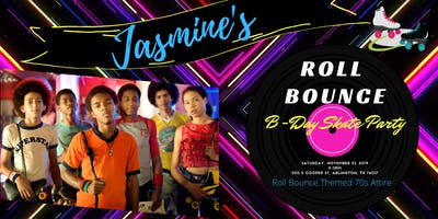 Jasmine's 28th Roll Bounce Skate Party