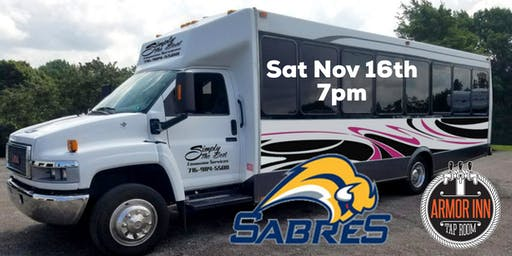 Entry for 8 Pack of Tickets with limo to and from Sabres Game