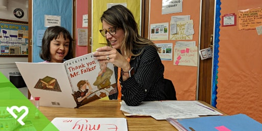 Volunteer with Project Helping for Reading Partners