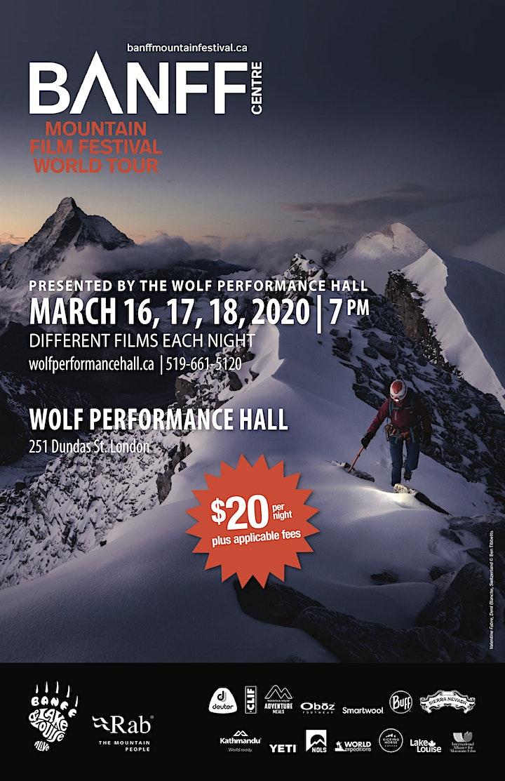 Banff Centre Mountain Film Festival World Tour image