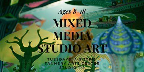 Mixed Media Art Ages 8-18 tickets