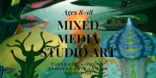 Mixed Media Art Ages 8-18
