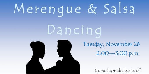 Merengue & Salsa Dancing