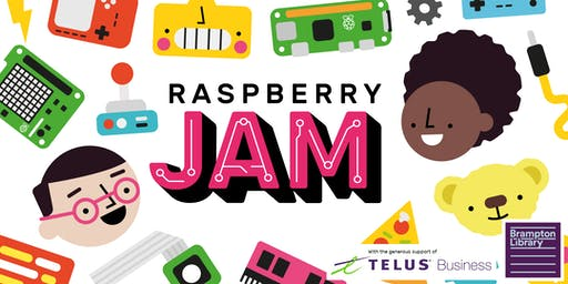 Brampton Library presents: Teen Raspberry Jam