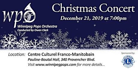 Winnipeg Pops Orchestra Christmas Concert tickets