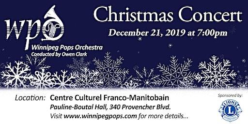 Winnipeg Pops Orchestra Christmas Concert
