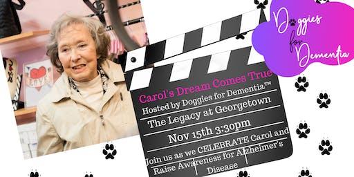 Doggies for Dementia-Carol's Dream Come True