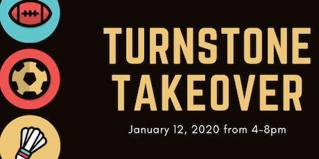 Turnstone Takeover tickets