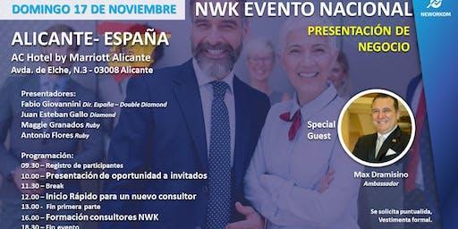 EVENTO NACIONAL NEWORKOM ESPAÑA