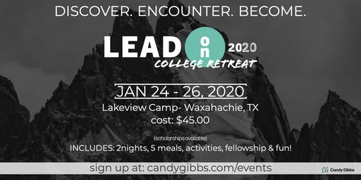2020 LEAD On College Retreat
