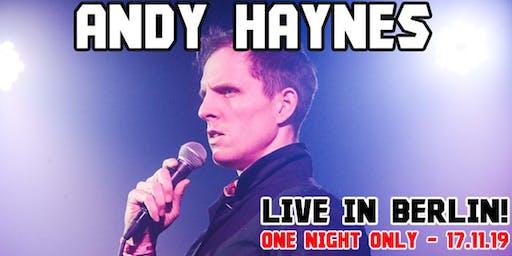 Propaganda comedy presents: Andy Haynes live in Berlin!