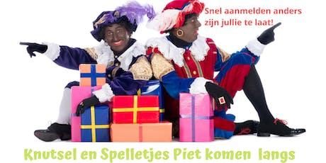 Sinterklaashuis 2019 Pieten middag tickets
