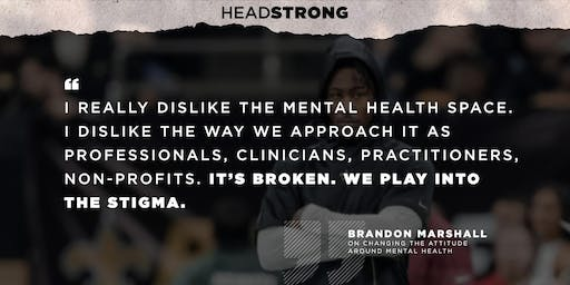 *Private Screening of Headstrong: Mental Health and Sports*