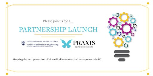 Partnership Launch Between UBC and Praxis