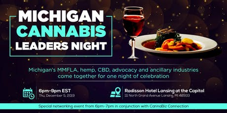 Michigan Cannabis Leaders Night tickets