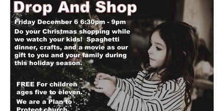 Drop And Shop Kids Christmas Event tickets