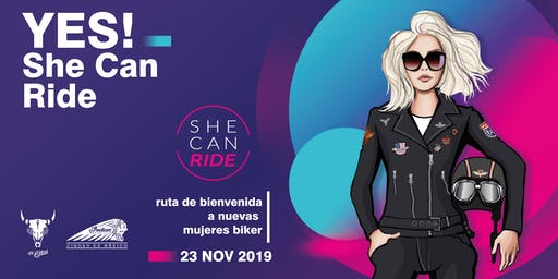 YES! She Can Ride
